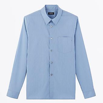 A.P.C. - Barthelemy Shirt - Blauw