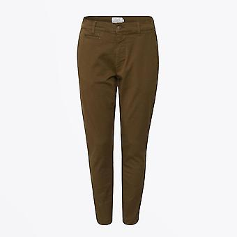 Les Deux  - Orta Chino Pants - Olive Green