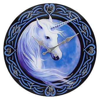 Anne Stokes Celtic Unicorn Clock