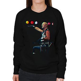 TV Times Judas Priest Singer Rob Halford 1983 Women's Sweatshirt