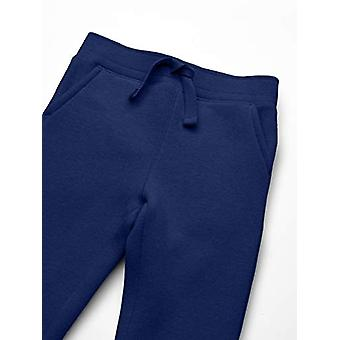 Essentials Boy's Fleece Jogger, Navy, Medium