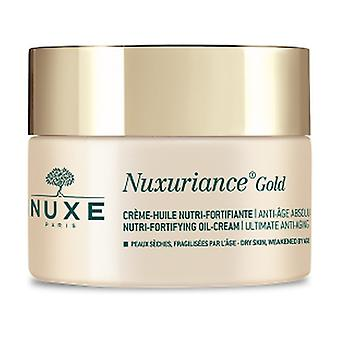 Nuxuriance Gold Nutri-fortifying cream-oil 50 ml of cream (Floral)