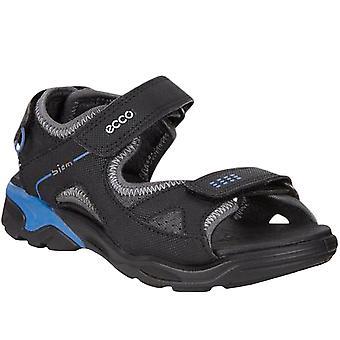 Ecco Boys Kids Biom Raft Walking Hiking Trail Summer Flip Flops Sandals - Black