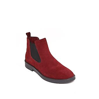 Suede burgundy chelsea boots | wessi