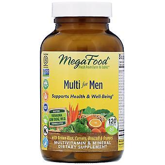 MegaFood, Multi for Men, 120 Tablets