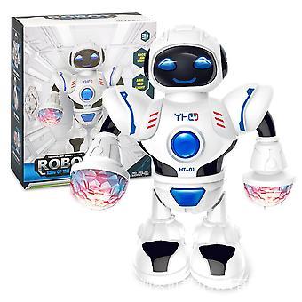 Electric hyun dance robot (white)