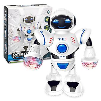 Robô de dança hyun elétrico (branco)