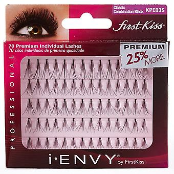 Kiss i-Envy Individual Flare Lashes - Combo - Short / Medium / Long Falsies