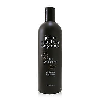 John Masters Organics Repair Conditioner For Damaged Hair with Honey & Hibiscus 473ml/16oz
