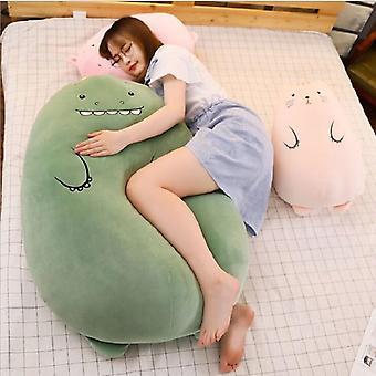50 cm dinosaur pute plysj leker søt gris dukke jenter- seng holder en sovende