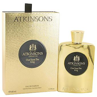 Oud Save The King Eau De Parfum Spray By Atkinsons 3.3 oz Eau De Parfum Spray