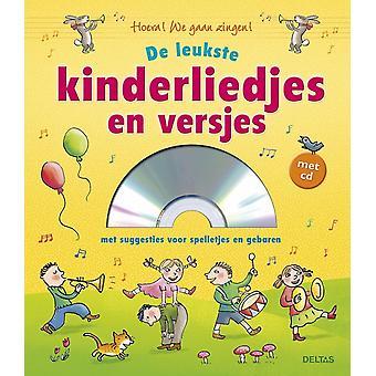 liedjesboek de leukste kinderliedjes en versjes met CD 23 cm