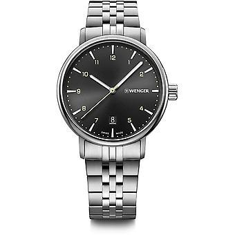 ヴェンゲル - 腕時計 - ユニセックス - アーバンクラシック - 01.1731.120 - 黒, 40 mm
