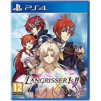 Langrisser I & II PS4-game