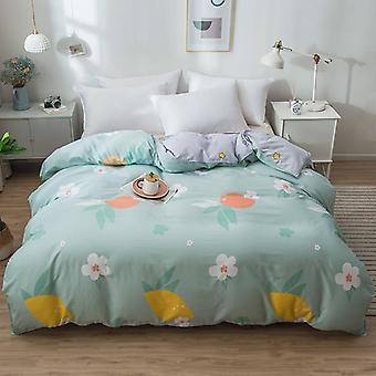 dual-sided Duvet Cover  soft Comfortable Cotton Printing Comforter -textiles Quilt Cover set 16
