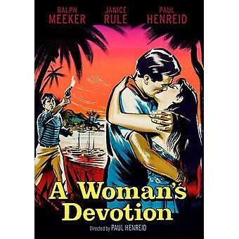 Woman's Devotion (1956) [DVD] USA import