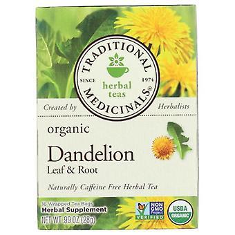 Traditional Medicinals Teas Dandelion Leaf & Root Tea, 16 Bag
