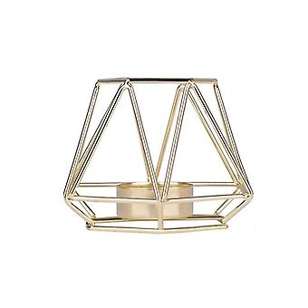 Iron Geometric Candle Holders - Nordic Style, Wrought Rack, Home Decoration