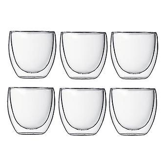 Glas Dubbele Ommuurde Warmte Geïsoleerde Tumbler Tea Cup / Koffiemok