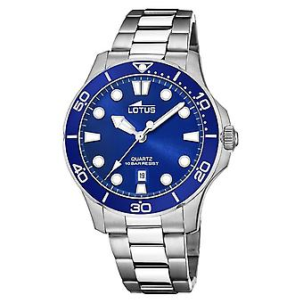 Lotus Men's Stainless Steel Bracelet | Blue Dial L18762/1 Watch