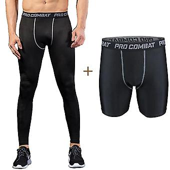 Men''s Tights Compression Pants, Running Leggings Men-Mallas Deporte Hombre