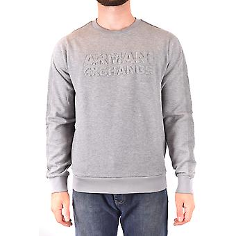 Armani Exchange Ezbc039164 Men's Grey Cotton Sweatshirt