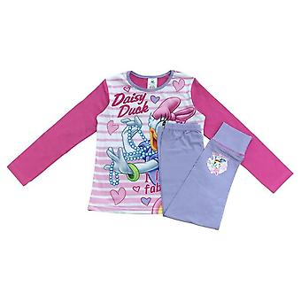 Disney Girls Daisy Ankka Pyjama Setti