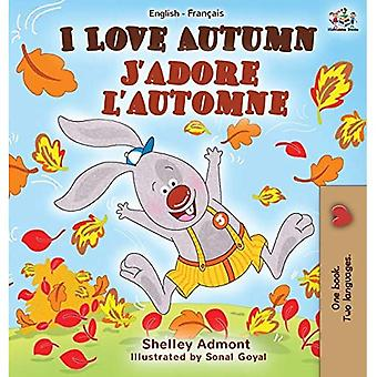 I Love Autumn J-apos;adore l'apos;automne