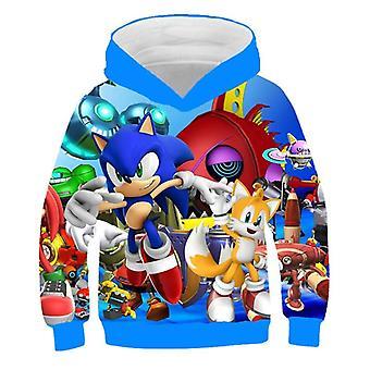 Sonic The Hedgehog 3d-hoodie Coat Sweatshirts