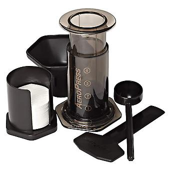 Aeropress coffee and espresso maker - quickly makes delicious coffee without bitterness - 1 to 3 cup