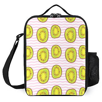 Kiwi Pattern  Printed Lunch Bags