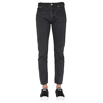 Emboscada Bmya007f20den0011000 Men's Black Cotton Jeans