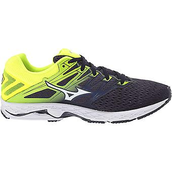 Mizuno Mens Wave Shadow Fabric Low Top Lace Up Running Sneaker