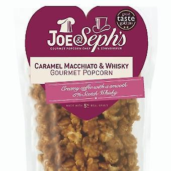 Valentine's Caramel Macchiato & Whisky Popcorn