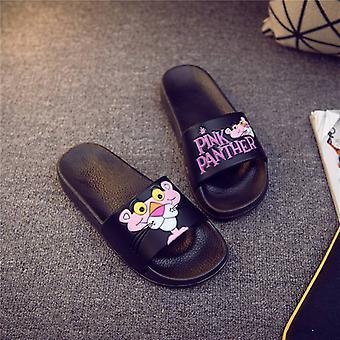 Women's Cartoon Animation Print, Flip Flops Slippers