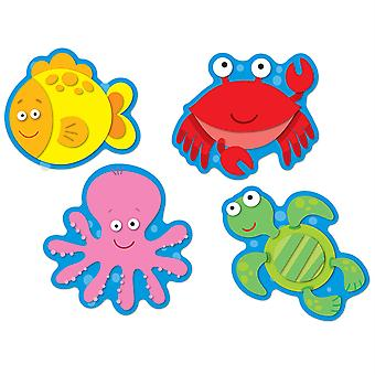 Sea Life Cut-Outs, Packung mit 36