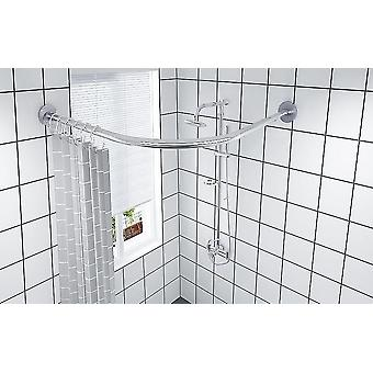 Extendable Curved Shower Curtain Rod