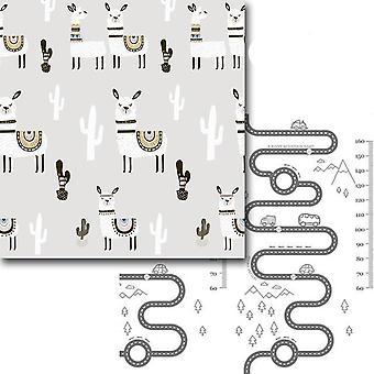 Taitettava sarjakuva painettu & anti skid play matto