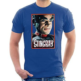 Stingray Commander Sam Shore Portrait Men's T-Shirt