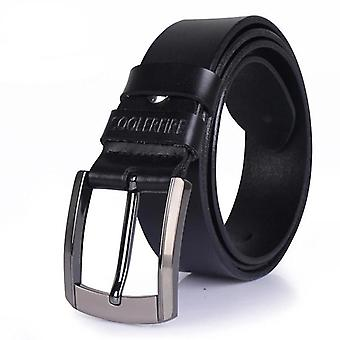 Genuine Leather Luxury Belts, Cowskin Fashion Strap, Jeans Cowboy