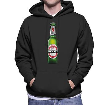 Beck's Bottle Men's Hooded Sweatshirt
