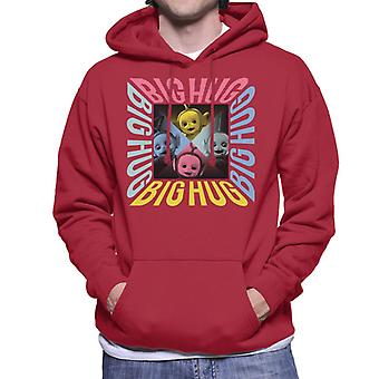 Teletubbies Big Hug Men's Hooded Sweatshirt