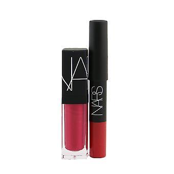 Expliciete kleur lip duo (1x fluwelen matte lip potlood, 1x lip tint) # dragon girl 255775 2pcs