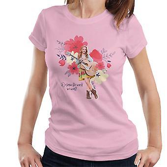 Holly Hobbie Vi kender verden, vi ønsker kvinder 's T-shirt