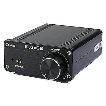 KGUSS GU50 TPA3116 2x50W Class D Hifi Lossless Digital Audio Desktop Power Amplifier