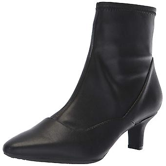Rockport Womens Kimly Stretch Bootie Pointed Toe Ankle Fashion Boots