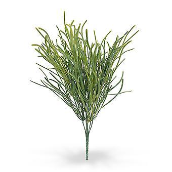 Bouquet di alghe artificiali grigio 40 cm