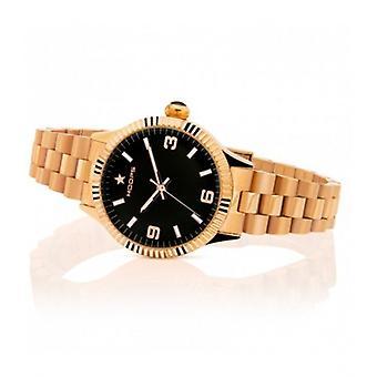 Hoops New Luxury Gold Black 30mm Women's Watch