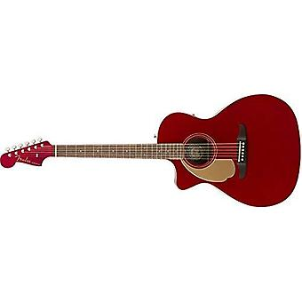 Fender newporter player lh, candy apple red