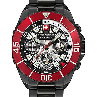 Reloj masculino Militar Suizo 05-5342.13.007SET, Automático, 44mm, 10ATM